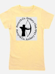 Archery_Shirt_High_Res_2009_bw Girl's Tee