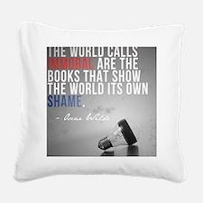 wildePAbannedbooks Square Canvas Pillow