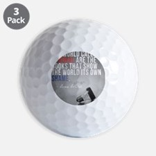 wildePAbannedbooks Golf Ball