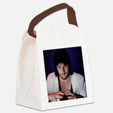 NineLivesCover Canvas Lunch Bag