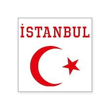 "istanbul1 Square Sticker 3"" x 3"""