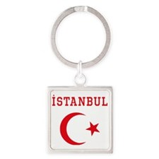 istanbul1 Square Keychain