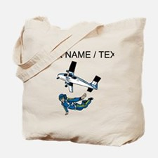 Custom Skydiver Tote Bag