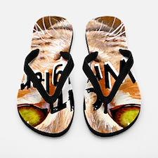 Cat Wrangler 3 Flip Flops