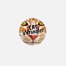Cat Wrangler 3 Mini Button
