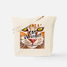 Cat Wrangler 3 Tote Bag