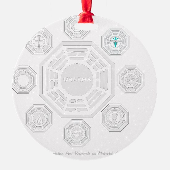 Dharma Stations Trans Ornament