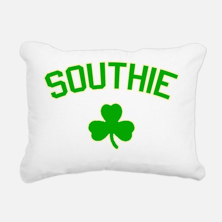 Southie-green Rectangular Canvas Pillow