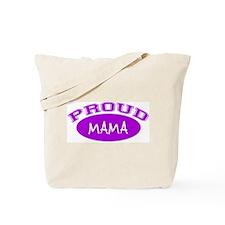 Proud Mama (purple) Tote Bag