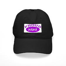 Proud Mama (purple) Baseball Hat