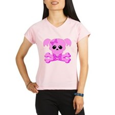 Pink Goth Girl Performance Dry T-Shirt