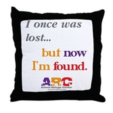 2-I once was lost Throw Pillow