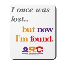 2-I once was lost Mousepad