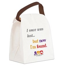 2-I once was lost Canvas Lunch Bag