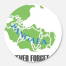 NF Pangaea-1 Round Car Magnet