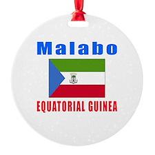 Malabo Equatorial Guinea Designs Ornament