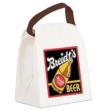 breidtsbeerwhite Canvas Lunch Bag