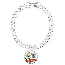 erlangerbeerdark Charm Bracelet, One Charm