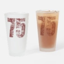 RedGrunge75 Drinking Glass