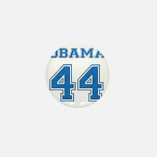 OBAMA 44 blue Mini Button