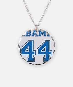 OBAMA 44 blue Necklace