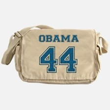 OBAMA 44 blue Messenger Bag
