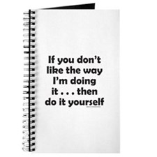 DO IT YOURSELF Journal