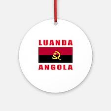 Luanda Angola Designs Ornament (Round)