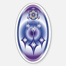 MOBILE-3 copy Sticker (Oval)