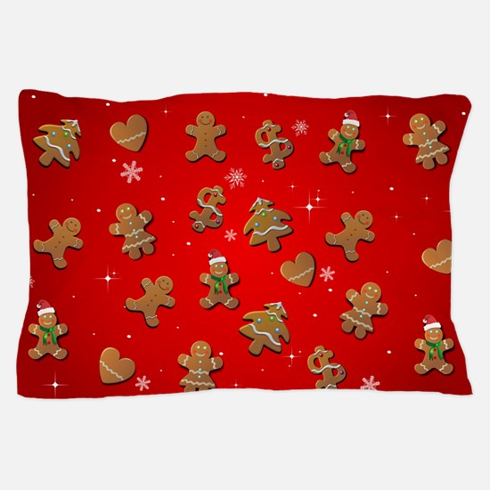 Funny Gingerbread Pillow Case