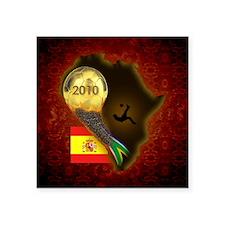 "2-World Cup Keepsake Box Square Sticker 3"" x 3"""