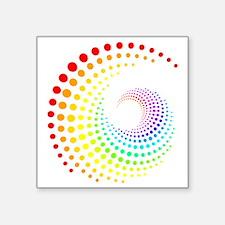 """Colors Square Sticker 3"""" x 3"""""""
