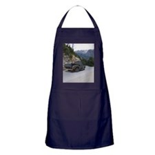 50 Ford Pick up - Mountains - Framed  Apron (dark)