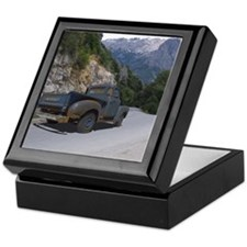 50 Ford Pick up - Mountains - Framed  Keepsake Box