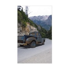 50 Ford Pick up - Mountains -  Decal