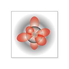 """orbitals3 Square Sticker 3"""" x 3"""""""