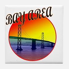 bay area certified copy Tile Coaster