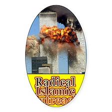 radical islamic outreach Decal