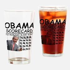 CP_SCORECARD_LIGHT Drinking Glass