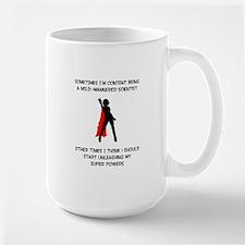 Superheroine Scientist Mugs
