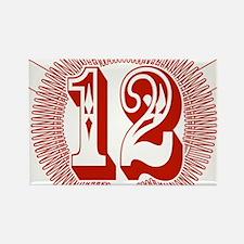 12BB - Hellfire Rectangle Magnet