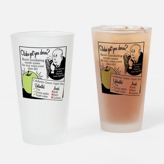 2-GreenAppleDiet Drinking Glass
