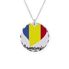 Heart Romania (World) Necklace