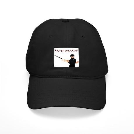 Ramen Warrior Black Cap