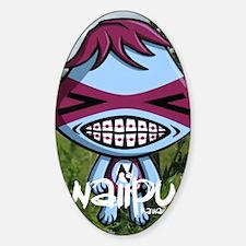 NerdJournalPhoto Sticker (Oval)
