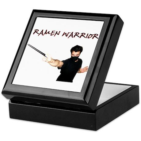 Ramen Warrior Keepsake Box