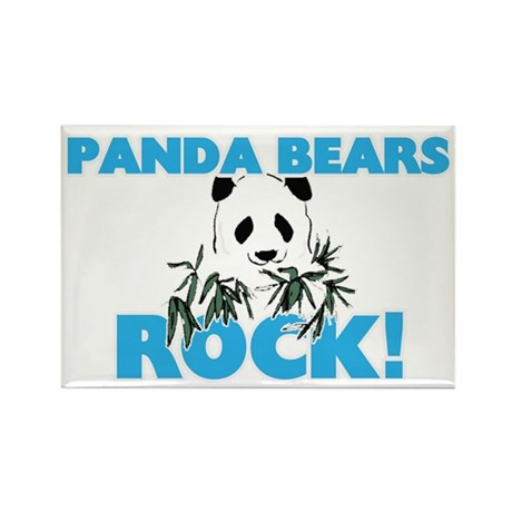 Panda Bears rock! Magnets