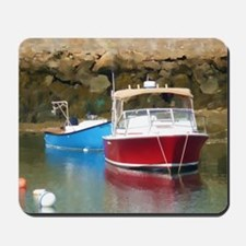 harborboat Mousepad