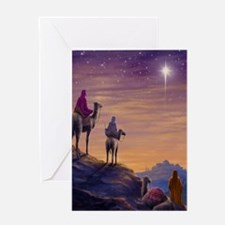 555 Three Wise Men Greeting Card