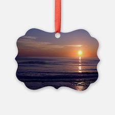 Sunrise Over Atlantic Ornament
